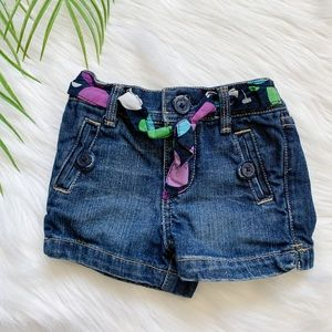 Baby Gap Girl Jean Shorts Size 12-18M